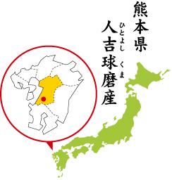 ひとよしくま熊本県人吉球磨産